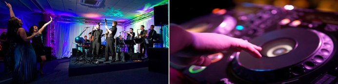 Wedding DJ vs. Live Band.