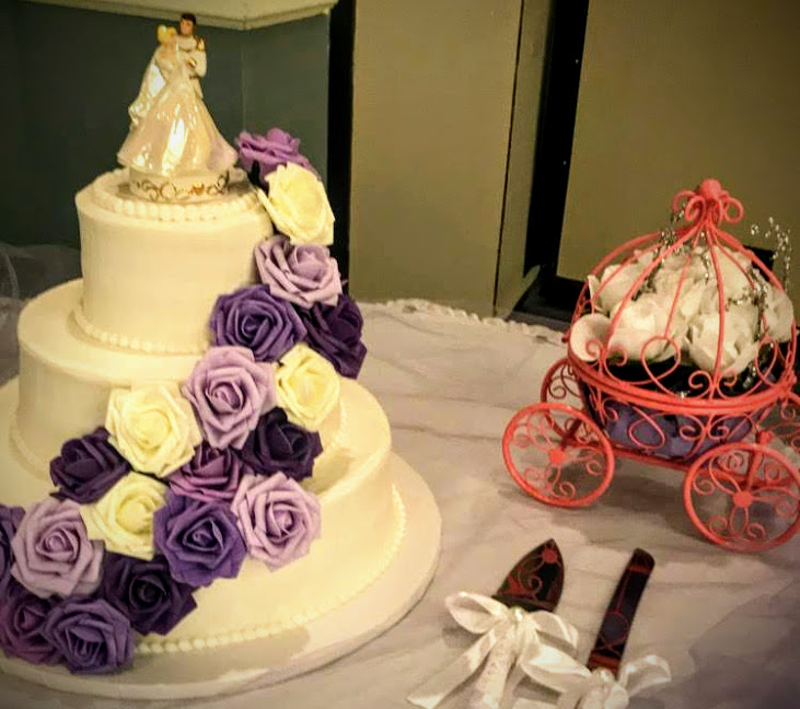 Wedding Cake and Pumpkin Carriage