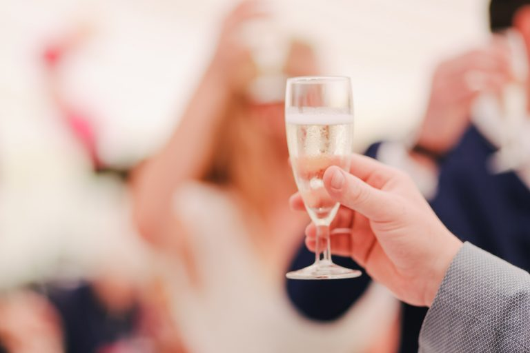 Giving wedding advice to the couple - SoundFire DJ
